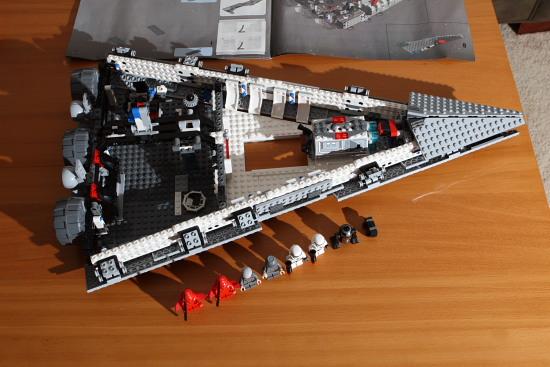 Imperial Star Destroyer - LEGO set #6211-1 (Building Sets ...   Lego Star Destroyer 6211