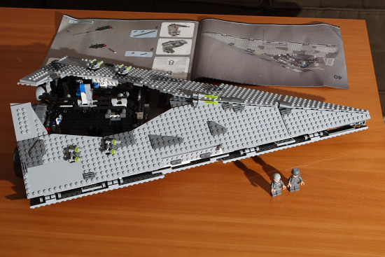 Review: Lego 6211 Star Wars Imperial Star Destroyer   Mark ...   Lego Star Destroyer 6211