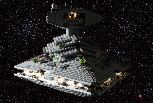 Lego 6211 Star Wars Imperial Star Destroyer Modified